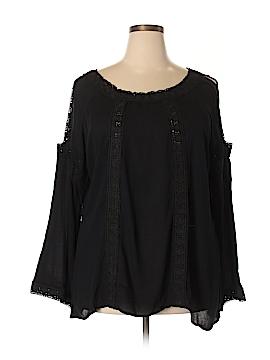 Forgotten Grace Long Sleeve Blouse Size 3X (Plus)