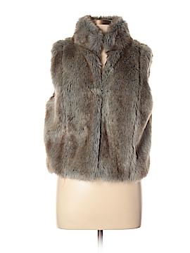Elle Faux Fur Vest Size L