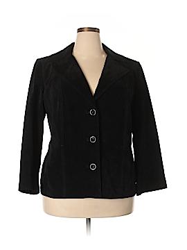 Preston & York Leather Jacket Size 1X (Plus)