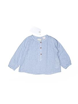 Zara Long Sleeve Button-Down Shirt Size 9-12 mo