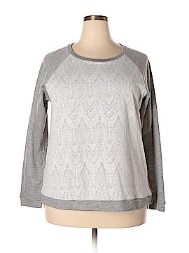Adrienne Vittadini Sweatshirt Size XXL