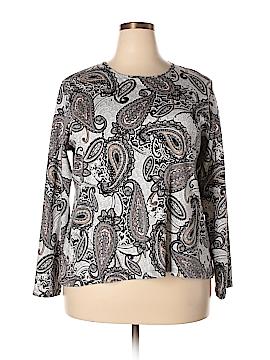 Croft & Barrow Long Sleeve T-Shirt Size 2X (Plus)
