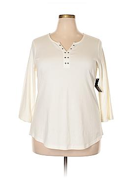 Kim Rogers 3/4 Sleeve T-Shirt Size 1X (Plus)