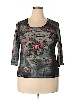 DressBarn 3/4 Sleeve T-Shirt Size 1X (Plus)