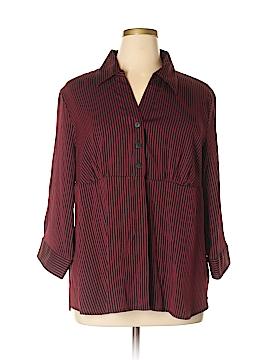 DressBarn 3/4 Sleeve Button-Down Shirt Size 22 - 24 (Plus)