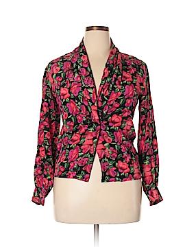 The Works Saks Fifth Avenue Silk Blazer Size 4