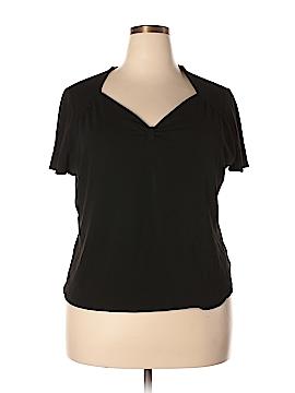 Jones New York Short Sleeve Top Size 3X (Plus)