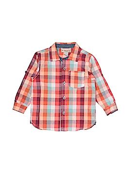 Kids Headquarters Long Sleeve Button-Down Shirt Size 24 mo