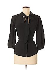 Annie Griffin 3/4 Sleeve Silk Top