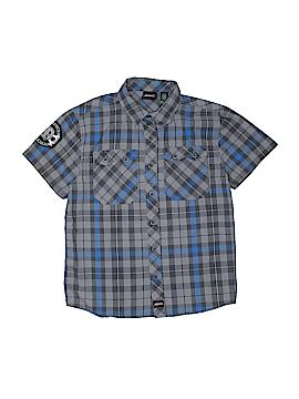 Dickies Short Sleeve Button-Down Shirt Size 10