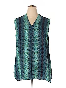 Worthington Sleeveless Blouse Size 2X (Plus)