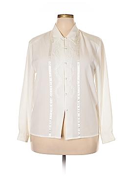 Claudia Richard Long Sleeve Blouse Size 16