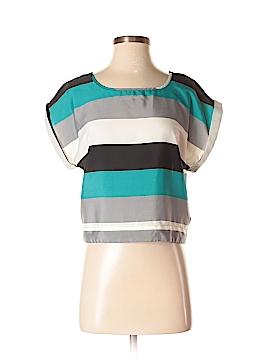 Material Girl Short Sleeve Blouse Size S