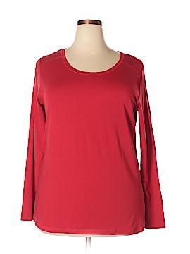 A.n.a. A New Approach Long Sleeve T-Shirt Size 1X (Plus)