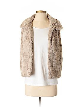 Vince Camuto Faux Fur Vest Size XS