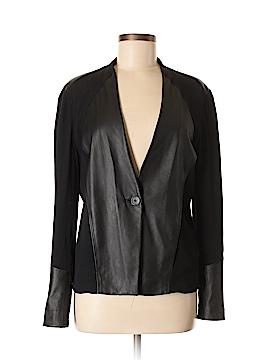 PureDKNY Leather Jacket Size M