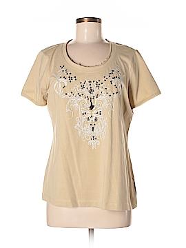 Laura Ashley Short Sleeve Top Size M