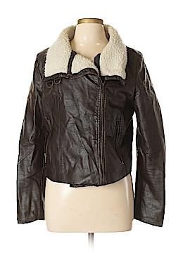 Dollhouse Faux Leather Jacket Size XL