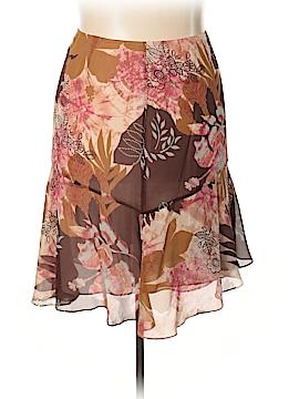 Lafayette 148 New York Silk Skirt Size 16