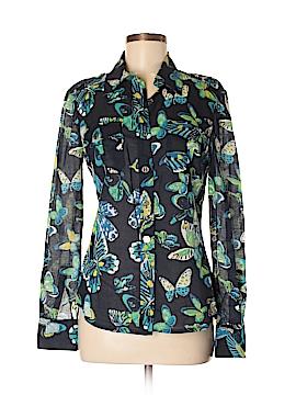 Tory Burch Long Sleeve Button-Down Shirt Size 6