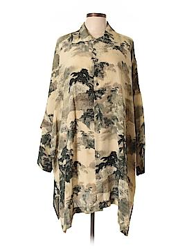 Eskandar Long Sleeve Silk Top Size 12 (2)