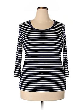 L.L.Bean 3/4 Sleeve T-Shirt Size 1X (Plus)