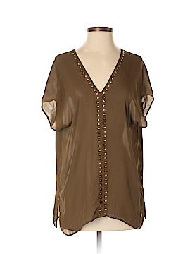 MICHAEL Michael Kors Short Sleeve Blouse Size S