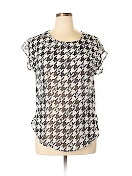 Heart Soul Short Sleeve Blouse Size XL