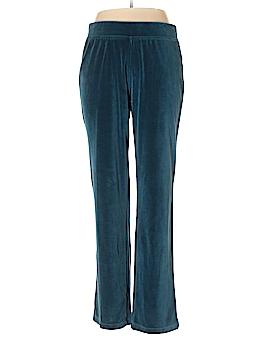 Coldwater Creek Velour Pants Size L (Tall)