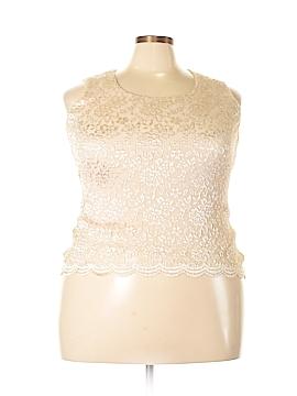 Helene Blake Sleeveless Blouse Size 14