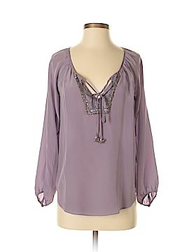 Rebecca Taylor Long Sleeve Silk Top Size 4