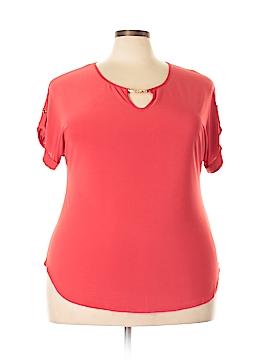 Perceptions Woman 3/4 Sleeve Top Size 2X (Plus)