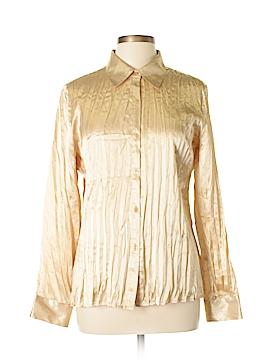 Claudia Richard Long Sleeve Blouse Size L