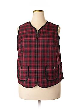 Liz Claiborne Vest Size 2X (Plus)