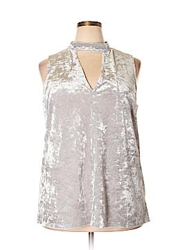 Maitai Sleeveless Blouse Size 2X (Plus)