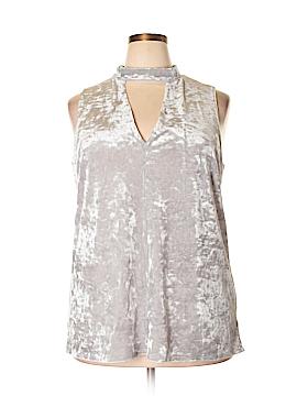 Maitai Sleeveless Blouse Size 3X (Plus)
