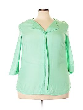 Jules & Leopold 3/4 Sleeve Blouse Size 2X (Plus)