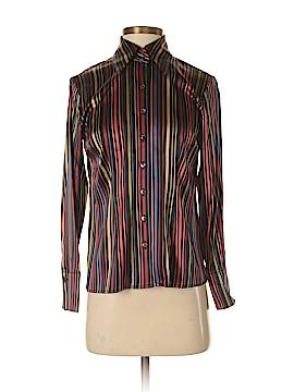 Talbots Long Sleeve Silk Top Size 2