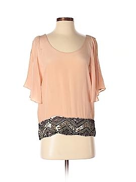 Creative Commune 3/4 Sleeve Silk Top Size XS