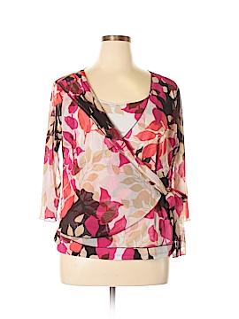 Nicola 3/4 Sleeve Top Size 1X (Plus)