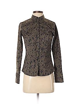 Eddie Bauer Long Sleeve Button-Down Shirt Size XS (Petite)