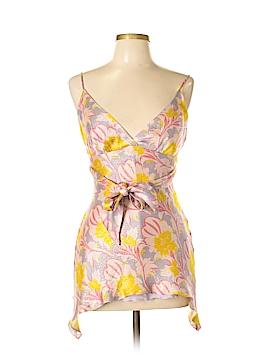 Julie Brown Sleeveless Silk Top Size M