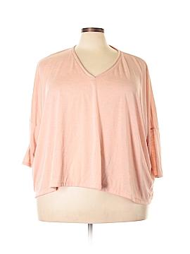 Simply Vera Vera Wang 3/4 Sleeve T-Shirt Size XL