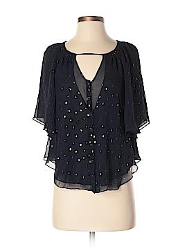 Leifsdottir 3/4 Sleeve Silk Top Size 2
