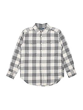Polo by Ralph Lauren Long Sleeve Button-Down Shirt Size S (Kids)