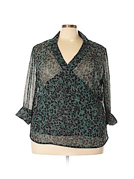 Jaclyn Smith Long Sleeve Blouse Size 2X (Plus)