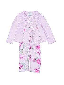 Laura Ashley Long Sleeve Button-Down Shirt Size 6-9 mo