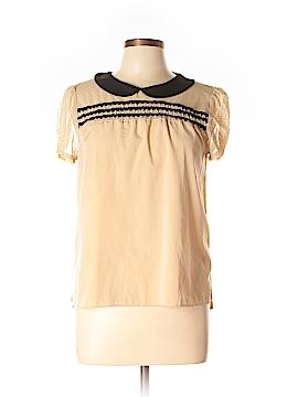 Princess Vera Wang Short Sleeve Blouse Size L