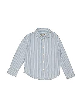 Cherokee Long Sleeve Button-Down Shirt Size 5