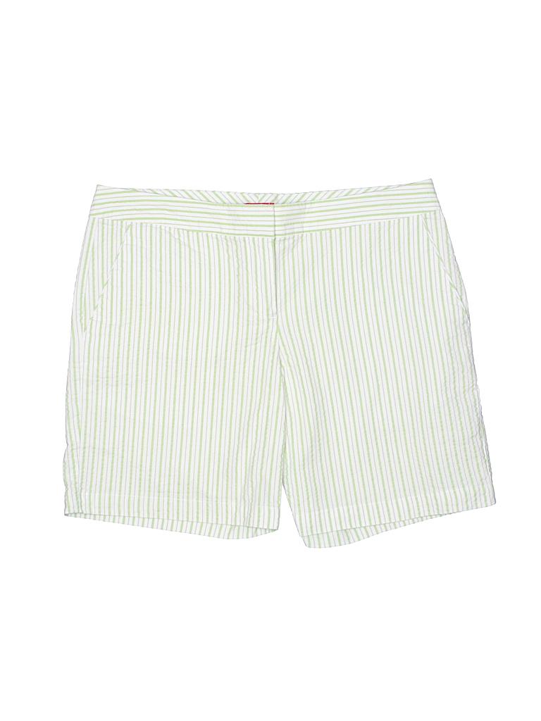 IZOD Women Khaki Shorts Size 4